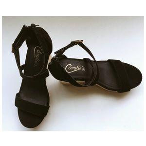 Candie's wedge heels size 7